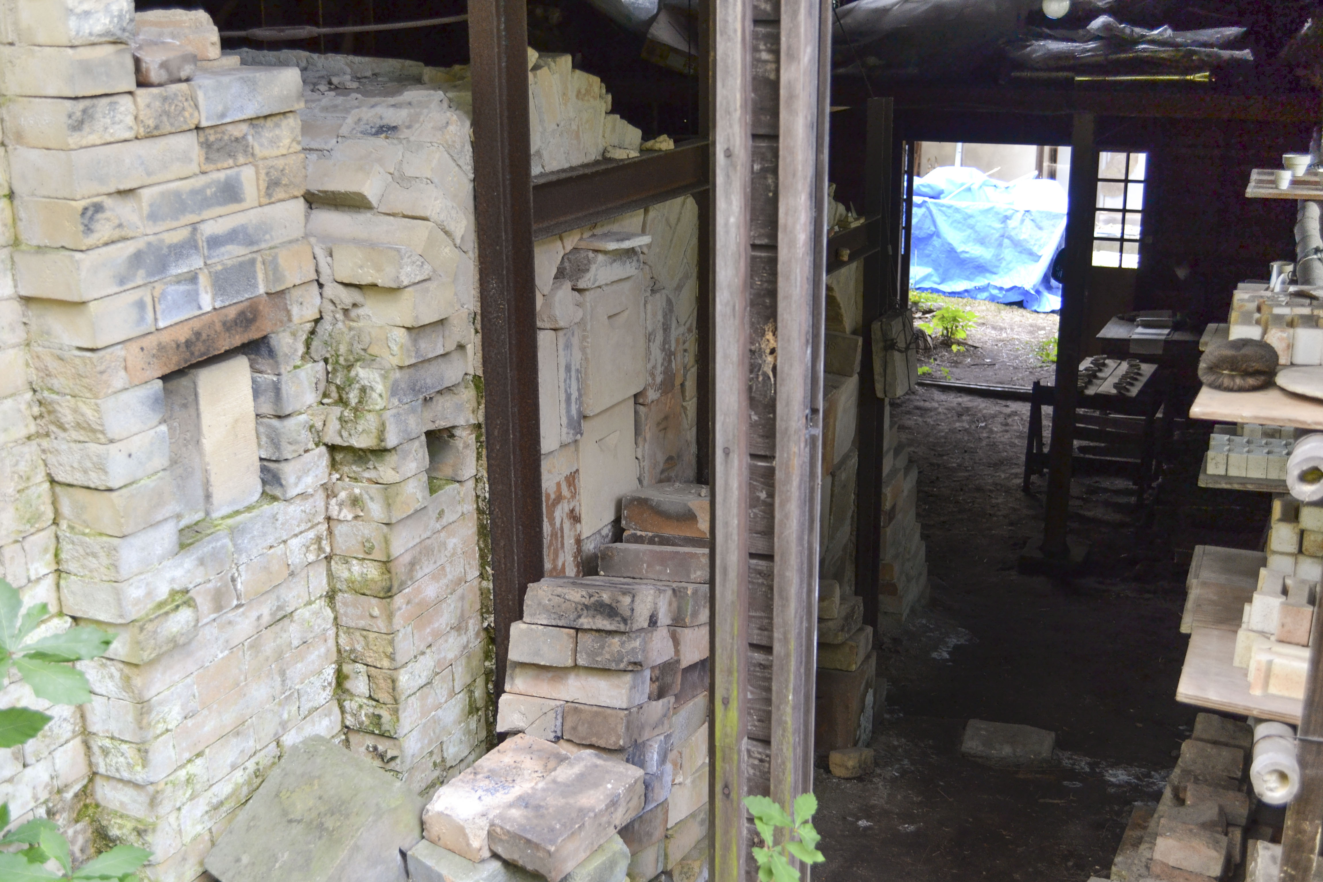 登り窯(焼成室)