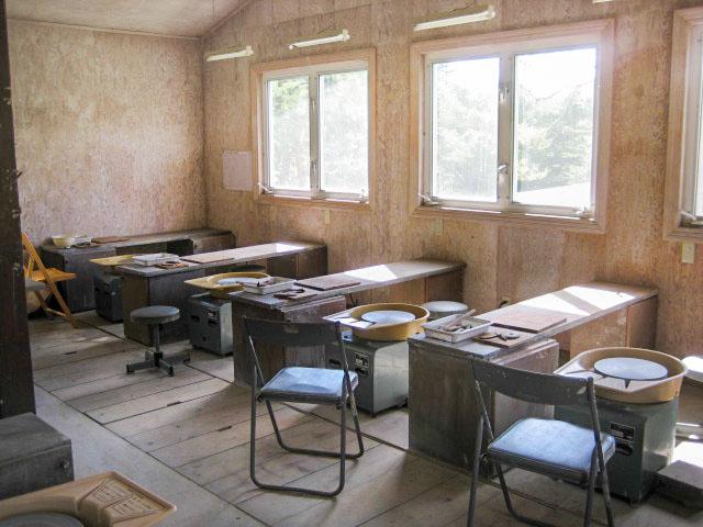 陶芸教室棟(ろくろ場)